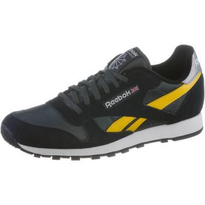Reebok Classic Sport Sneaker Herren black/gravel/retro yellow