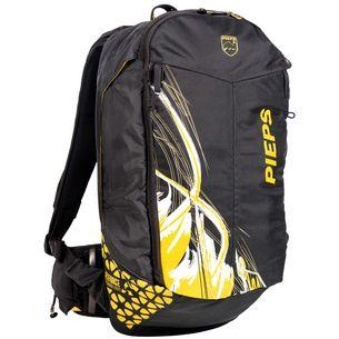 PIEPS Jetforce Rider 10 Lawinenrucksack schwarz/gelb