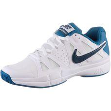 Nike Air Vapor Advantage Tennisschuhe Herren weiß/blau