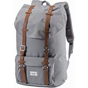 Herschel Little America Daypack grey-tan synthetic leather