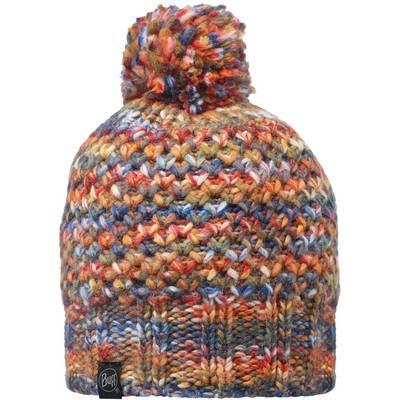 BUFF Knitted & Polar Hat Bommelmütze margo orange