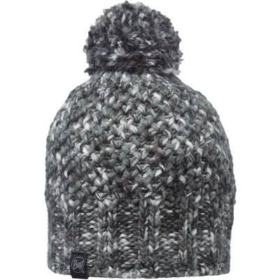 BUFF Knitted & Polar Hat Bommelmütze grau