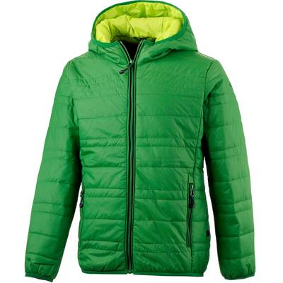 CMP Steppjacke Kinder grün/gelb