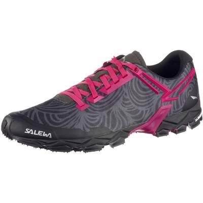 SALEWA WS Lite Train Mountain Running Schuhe Damen schwarz/pink