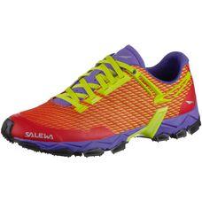 SALEWA WS Lite Train Mountain Running Schuhe Damen rot/lila/gelb