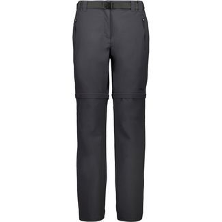 CMP LONG PANT ZIP OFF Zipphose Damen anthrazit