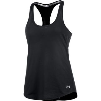 Under Armour Threadborne Funktionstank Damen schwarz
