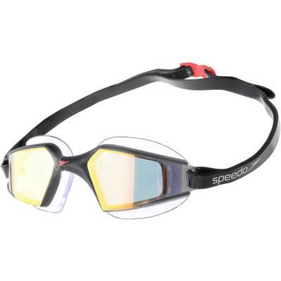 SPEEDO Aquapulse Max Mirror 2 Schwimmbrille schwarz/goldfarben