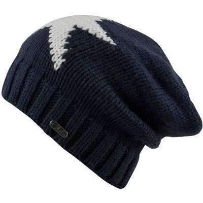 Chillouts Mütze Regina Beanie schwarz/weiß