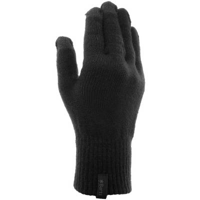 Barts Fine Knitted Touch Fingerhandschuhe schwarz