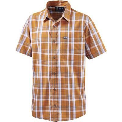 Jack Wolfskin Hot Chili Kurzarmhemd Herren orange