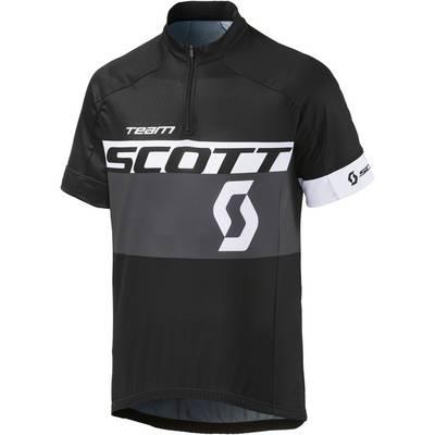 SCOTT RC Team Fahrradtrikot Herren schwarz grau