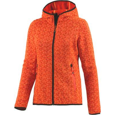 CMP Strickfleece Damen orange