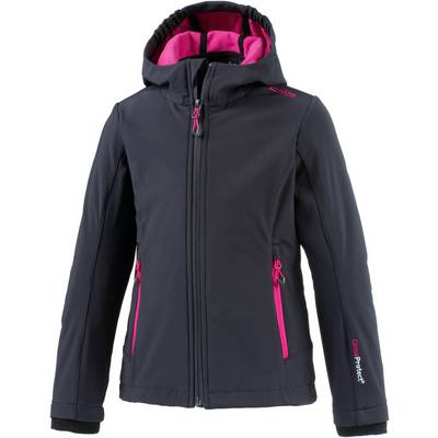 CMP Softshelljacke Kinder anthrazit/pink