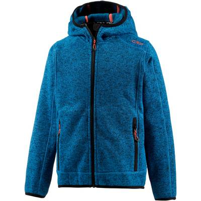 CMP Strickfleece Kinder blau/rot