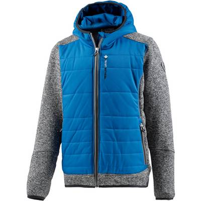 KILLTEC Strickfleece Kinder blau