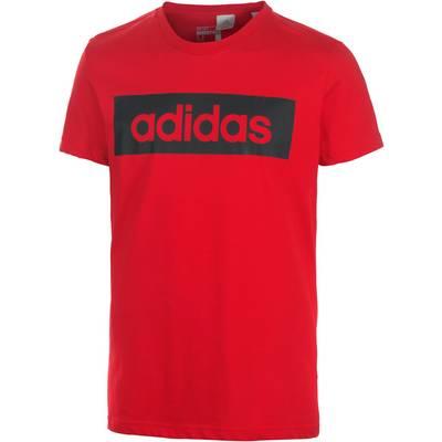adidas Lin Printshirt Herren rot