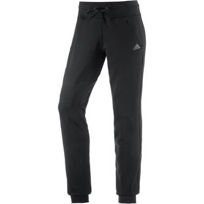 adidas Trainingshose Damen schwarz
