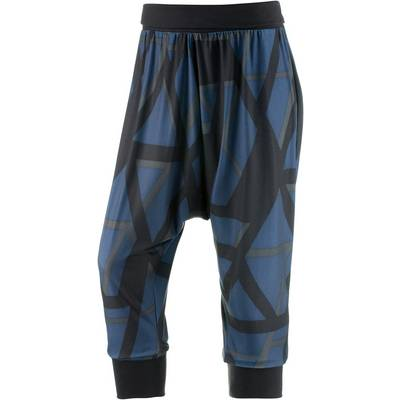 adidas Yogapants Damen schwarz/dunkelblau