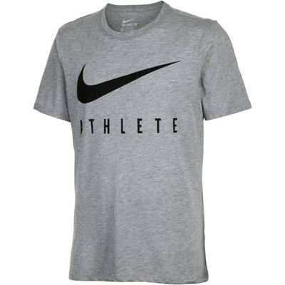 Nike Swoosh Athlete Funktionsshirt Herren graumelange