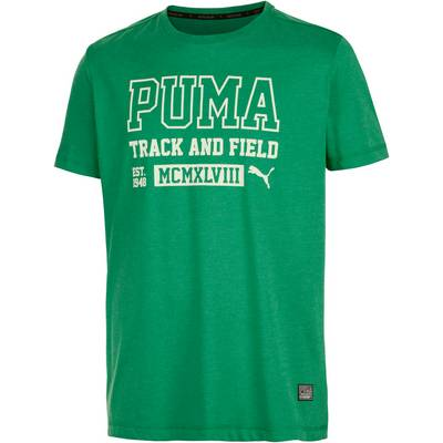 PUMA Style Athletics Funktionsshirt Herren grün