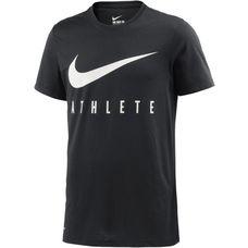 Nike Swoosh Athlete Funktionsshirt Herren schwarz