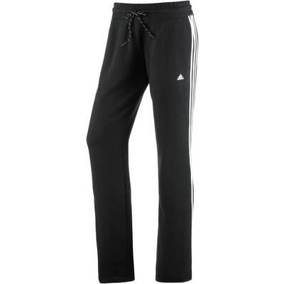 adidas Sweathose Damen schwarz/weiß