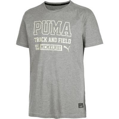 PUMA Style Athletics Funktionsshirt Herren graumelange