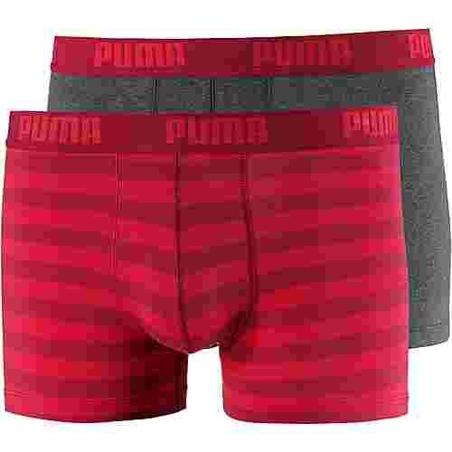 PUMA Boxer Herren rot/dunkelgrau