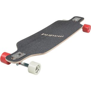 Madrid Board Game Longboard braun