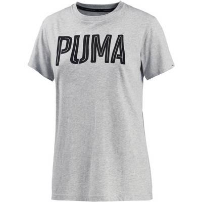 PUMA T-Shirt Damen hellgrau