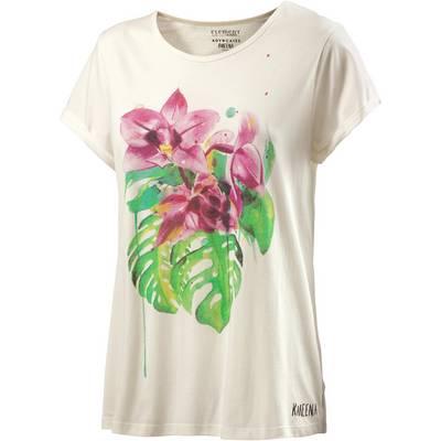 Element Tropical Floral Printshirt Damen offwhite