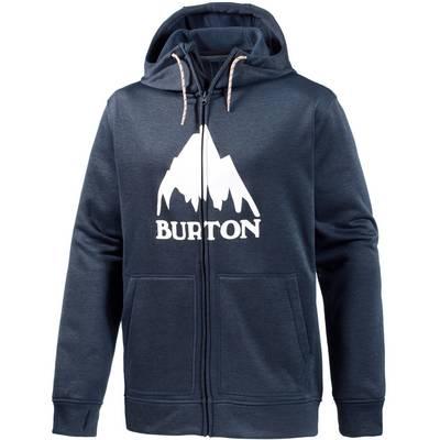 Burton Oak Full Sweatjacke Herren navy