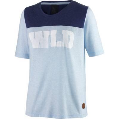 WLD Sally Ocean T-Shirt Damen hellblau