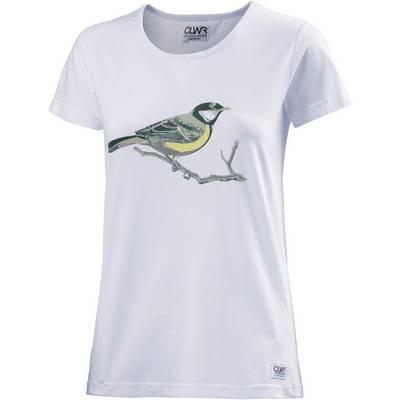 Colour Wear Print Printshirt Damen weiß