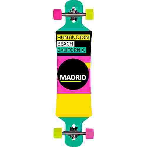 """Madrid Rapid DT 39"""" Longboard-Komplettset bunt"""