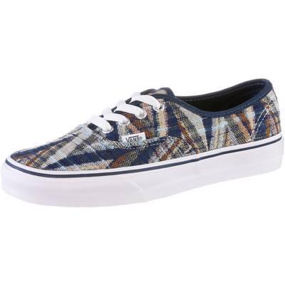 Vans Authentic Lo Pro Sneaker Damen blau