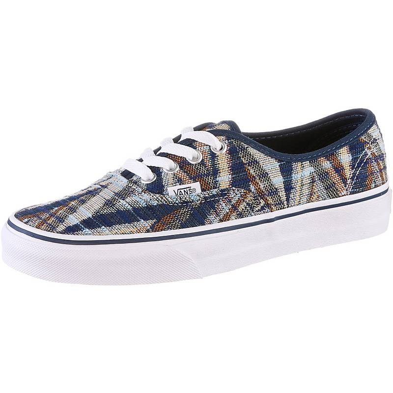 vans damen slip on blau