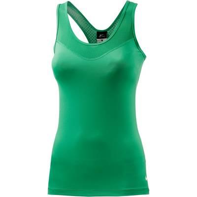 Nike Pro Funktionstank Damen hellgrün