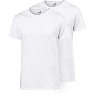 PUMA Shirt Doppelpack Herren weiß