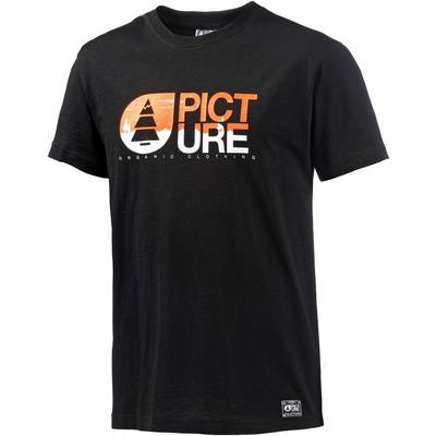 Picture Basement Two Pines Printshirt Herren schwarz
