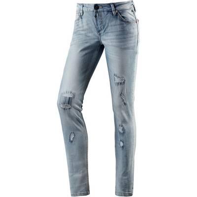 TIMEZONE AleenaTZ Skinny Fit Jeans Damen destroyed denim