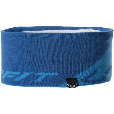 Dynafit Leopard Logo Stirnband blau/dunkelblau