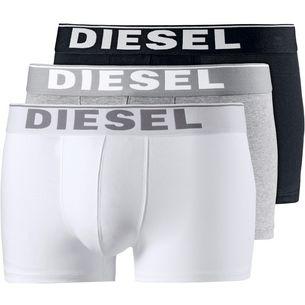 DIESEL Boxer Herren schwarz/weiß/grau
