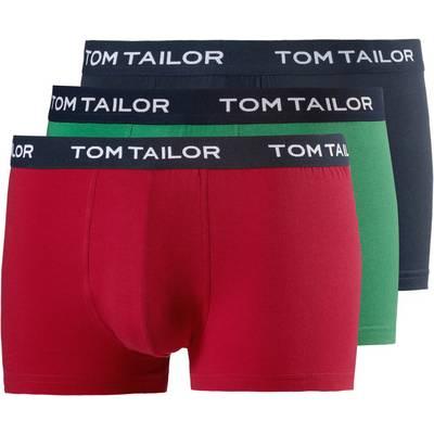 TOM TAILOR Boxer Herren rot/blau/grün