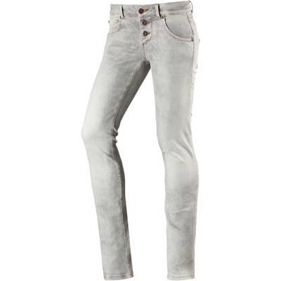 M.O.D Ulla Skinny Fit Jeans Damen grey denim