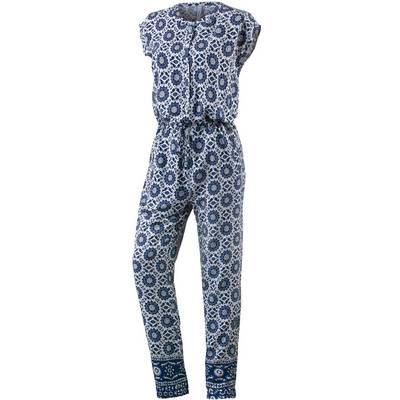 Pepe Jeans Jumpsuit Damen blau/weiß