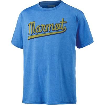 Marmot Field Funktionsshirt Herren blau