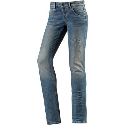 M.O.D Ulla Skinny Fit Jeans Damen destroyed denim