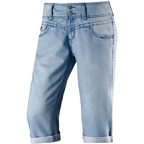 timezone new britttz 3 4 jeans damen light washed denim im online shop von sportscheck kaufen. Black Bedroom Furniture Sets. Home Design Ideas